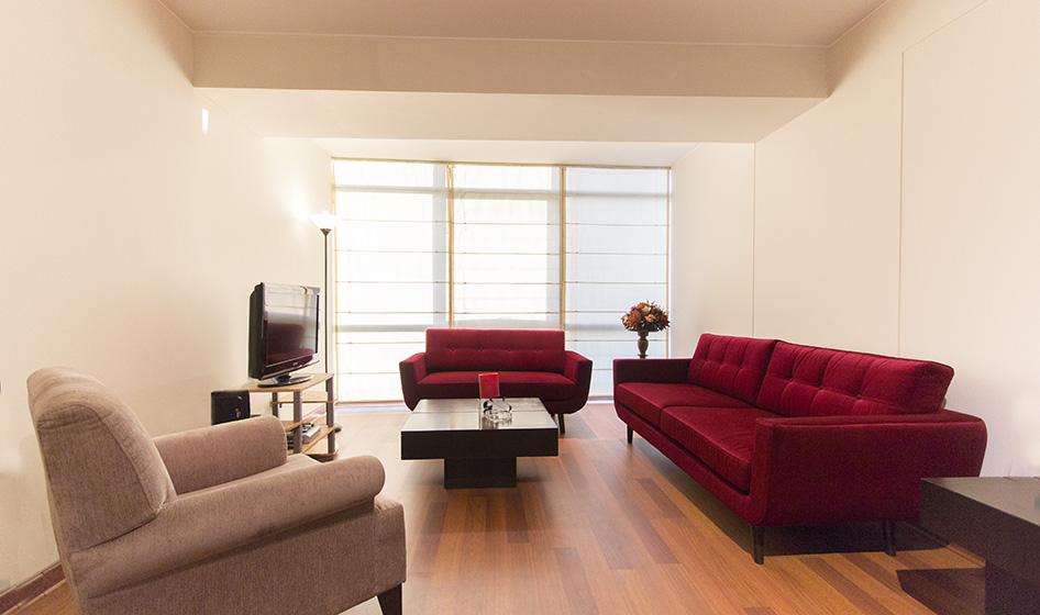 Amplio Departamento de 1 Dormitorio en San Isidro