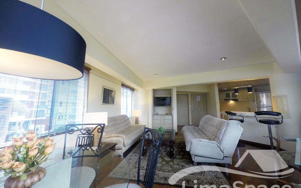 Alquilo Departamento Amoblado de 1 Dormitorio en Miraflores – MIR116