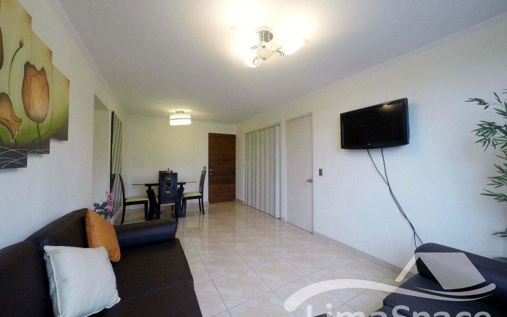 Alquiler de Departamento en Miraflores con Áreas Comunes – MIR135