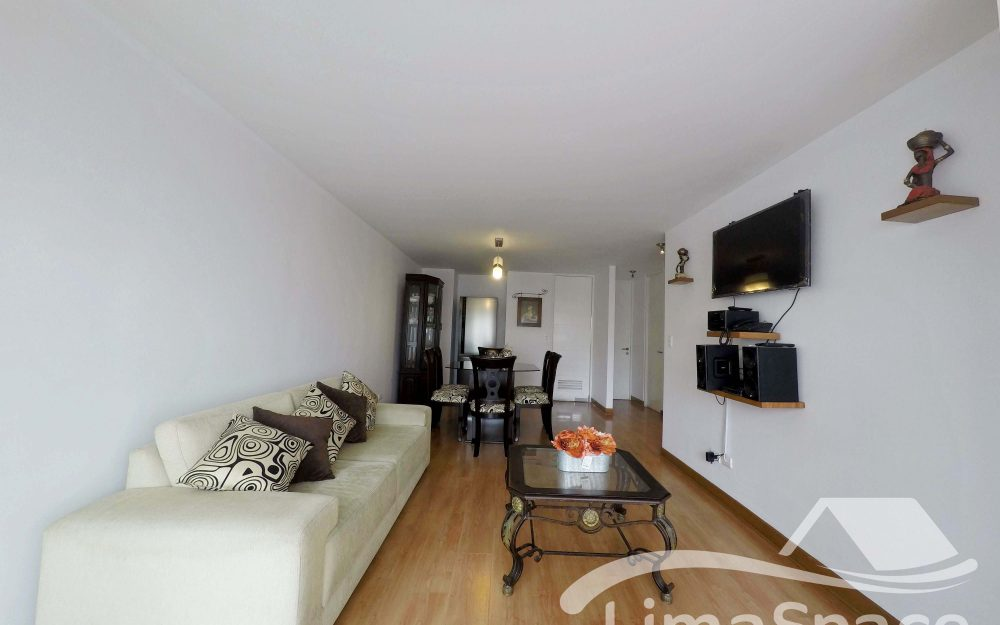 Departamento en Alquiler 2 Habitaciones en Miraflores – MIR134