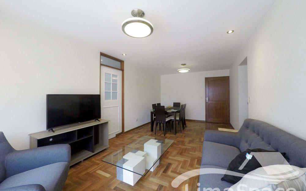 Alquilo Lindo Departamento Amoblado 2 Habitaciones, Miraflores – MIR140