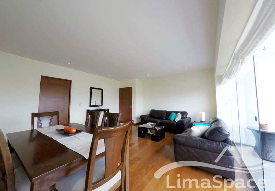 Alquilo lindo departamento amoblado de 3 habitaciones en Malecón – MIR145