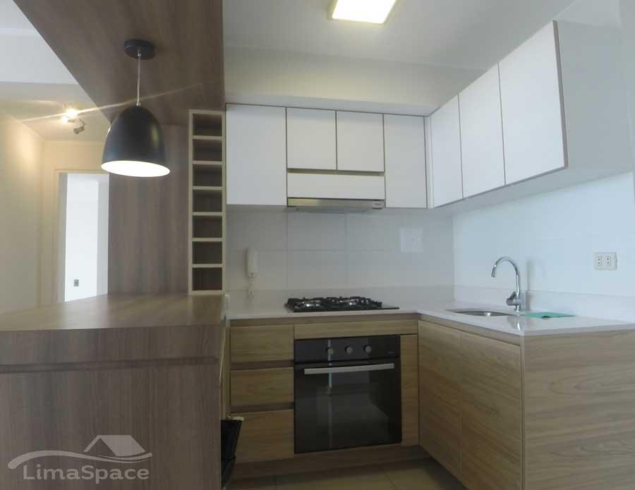 Departamento  de 2 Habitaciones MOderno con áreas comunes en Barranco límite con miraflores