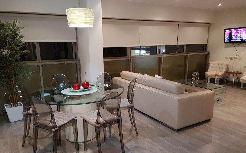 Hermoso y moderno Departamento de 2 Dorm. full amoblado en Miraflores  – MIW26