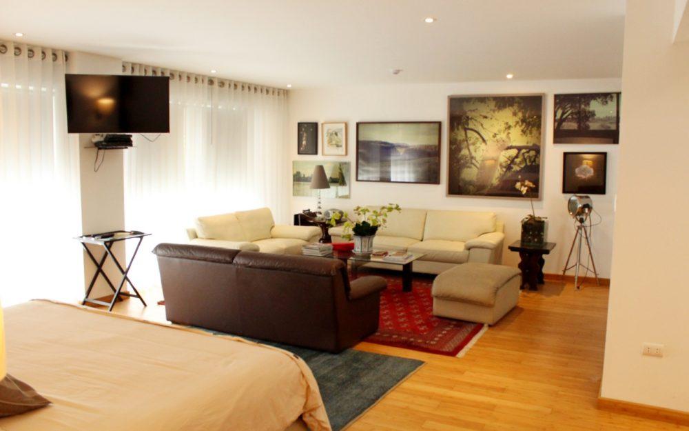 Alquiler Barranco Dpto. Loft, Amoblado y Equipado, 1 Dormitorio