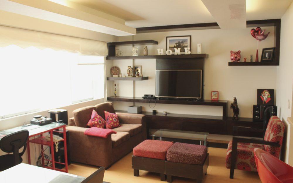 Alquiler Miraflores Departamento Amoblado, 2 Dormitorios, A Una Cuadra Del Malecón