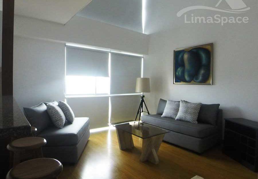Lindo duplex de 1 dormitorio en alquiler en el corazón de Miraflores – MIW66