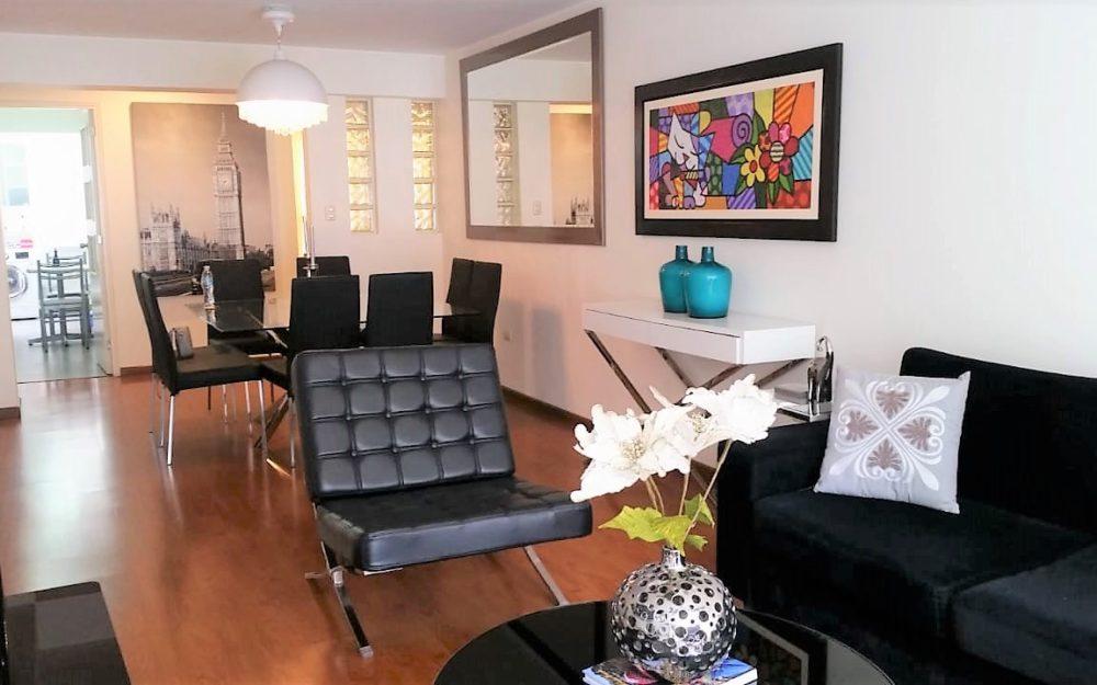 Lindo departamento de 3 dormitorios amoblado en alquiler -MIW75