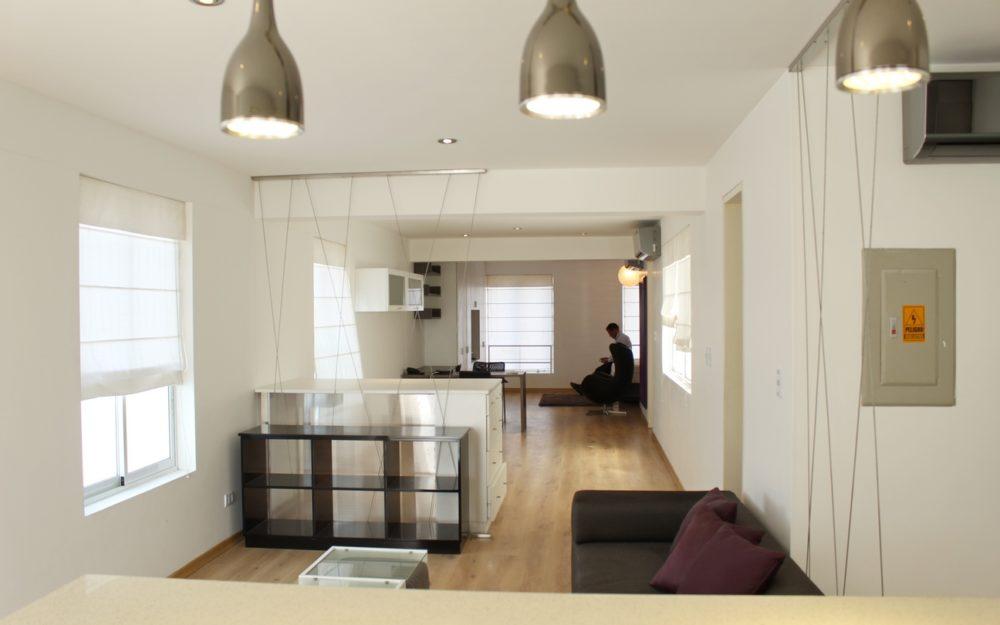 Venta Barranco Dpto. Moderno y Amoblado Tipo Loft, 87 m2, Piso 4, Bien Ubicado, Barranco Centro – BAP114