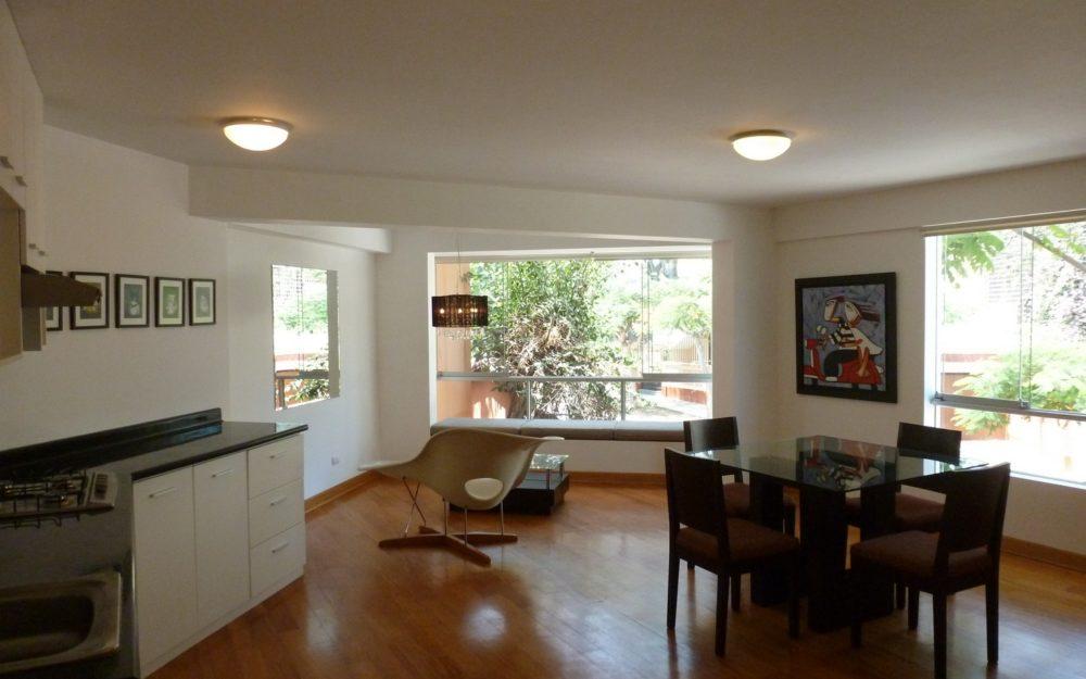 Alquiler Barranco Dpto. Semi-Amoblado, 1 Dormitorio, Bien Ubicado – BAP112