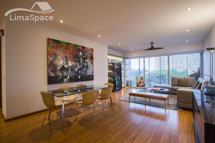 Lujoso y moderno departamento a la venta en Salaverry, San Isidro