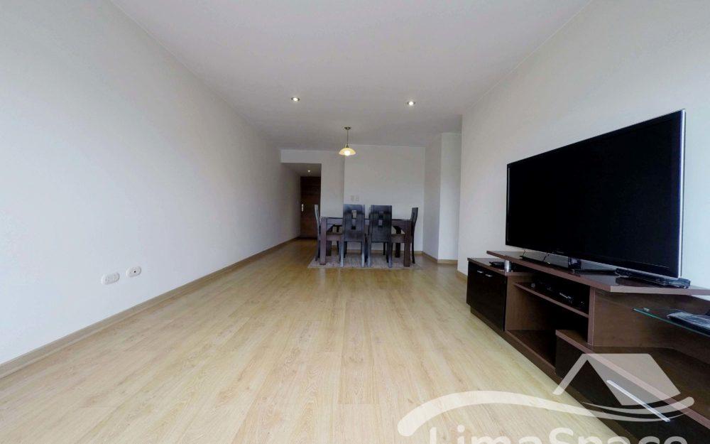 Alquilo Hermoso Departamento sin muebles de 3 Habitaciones – MIR211