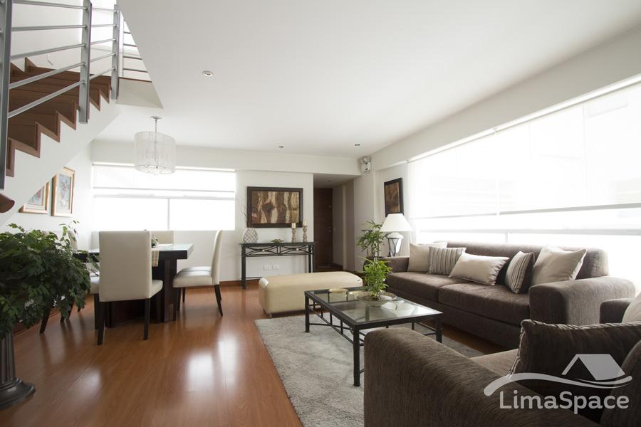 Hermoso Duplex Penthouse en La Mejor Zona de Miraflores
